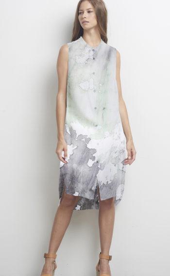 05-U34142 Smith Shirt Dress Mint