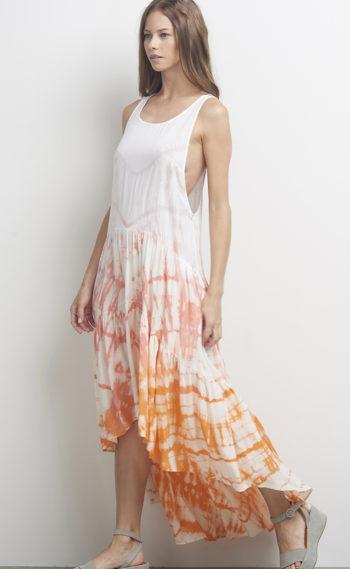 05-U44147 Gypsy Dress Coral