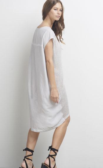 62-A14151 The Shift Dress Soft Grey